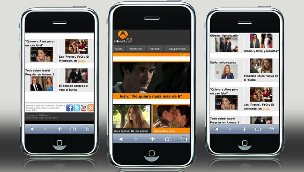 Antena3 en tu móvil