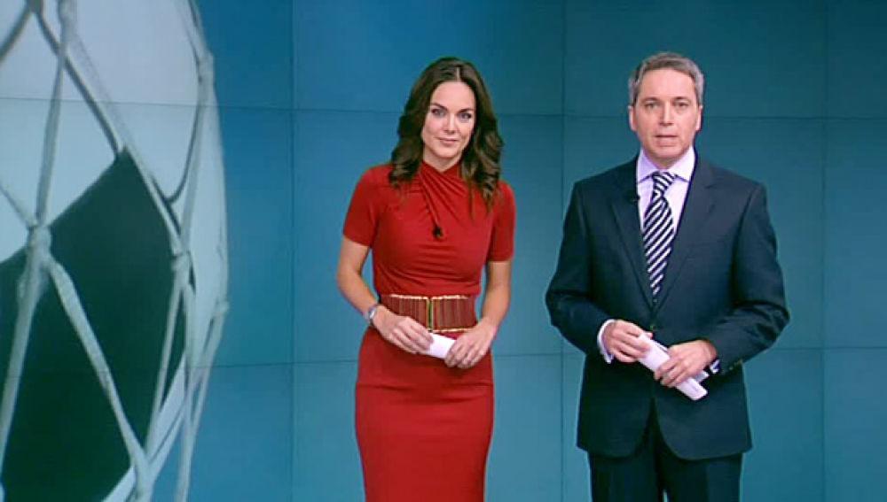 Monica Carrillo y Vicente Vallés