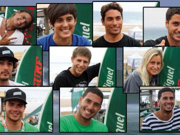 Finalistas de Cracks del Surf