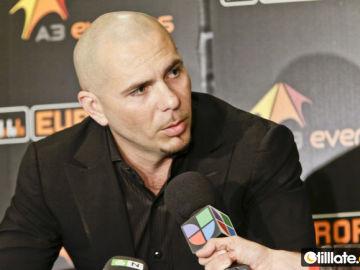 Pitbull, momentos previos al concierto