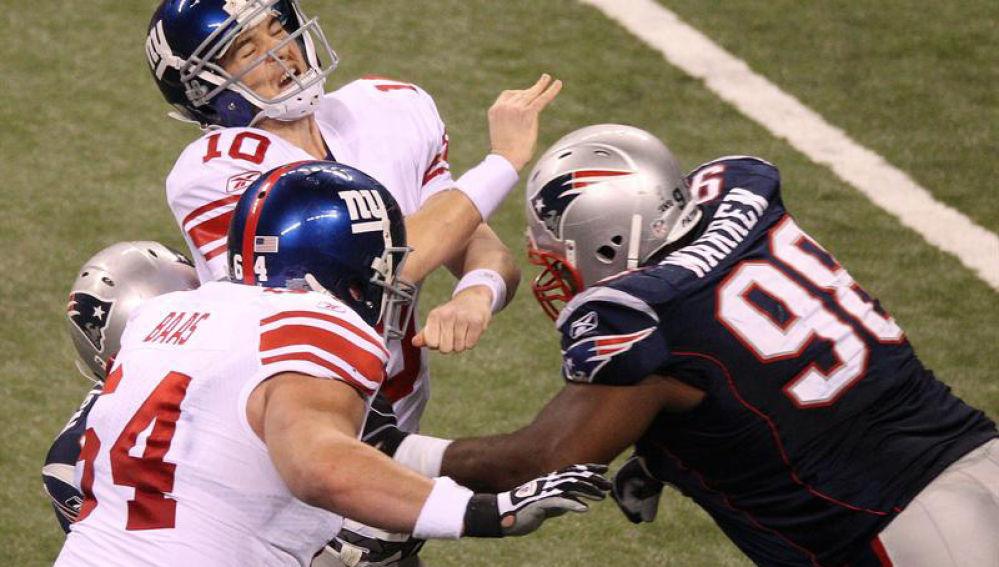 Superbowl entre Giants y Patriots