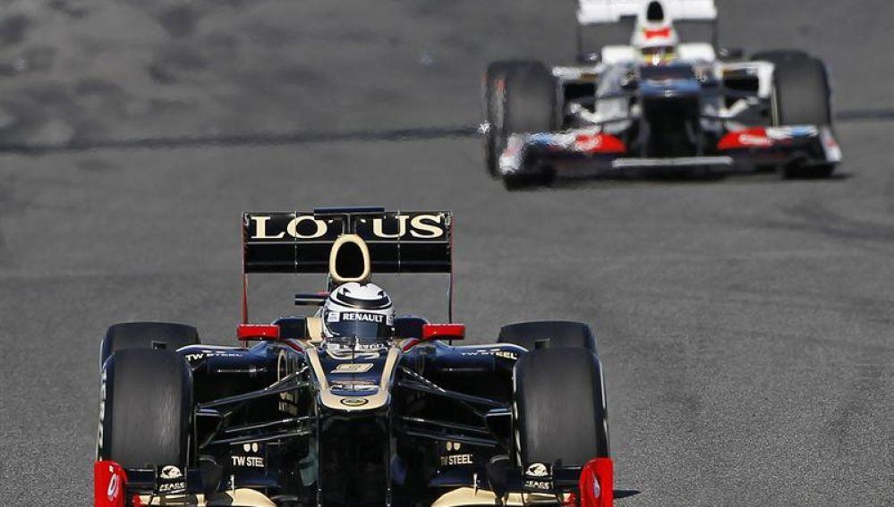 El Lotus de Raikkonen