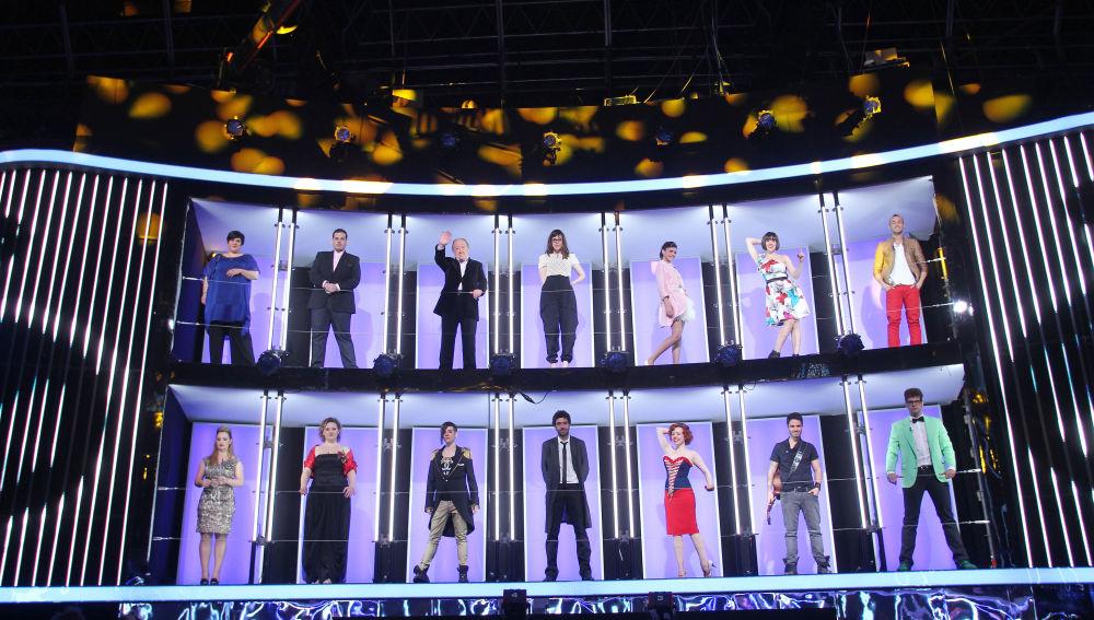 Los 14 finalistas