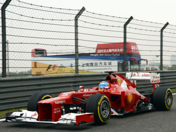 Alonso en China