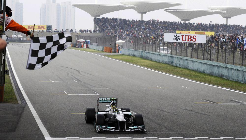 Rosberg ganador en el GP de China