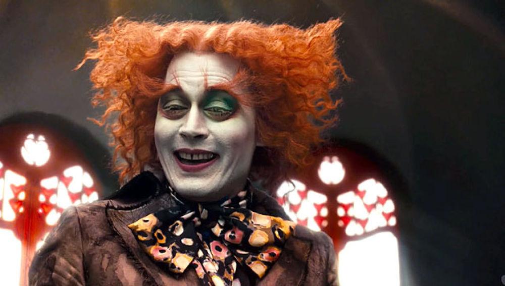 Johnny Depp en 'Alicia en el país de las maravillas'