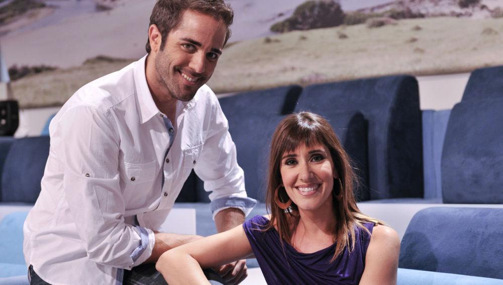 Roberto Leal y Sandra Daviú