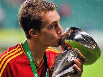 Deulofeu besa el Europeo Sub-19
