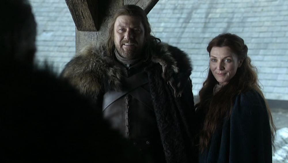 Ned y Catelyn Stark