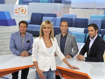 Susanna Griso, Albert Castillón, Alfonso Egea y Roberto Leal