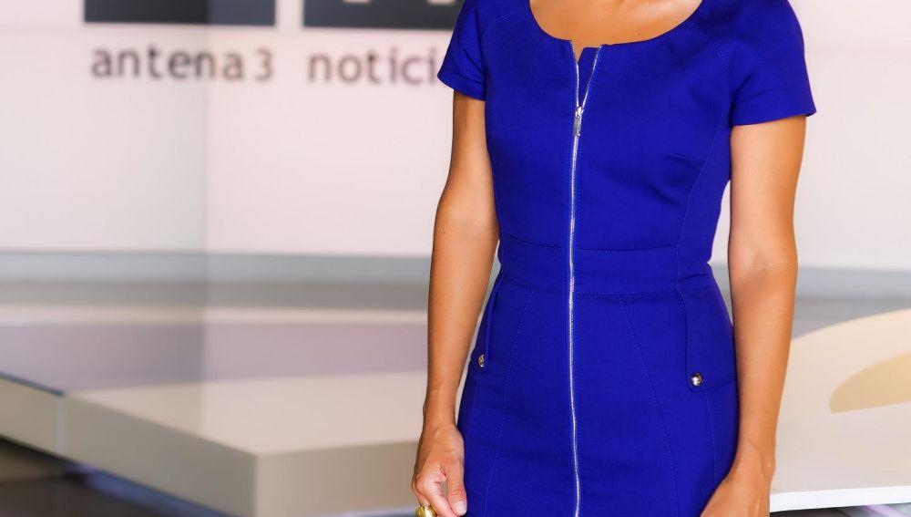 Lourdes Maldonado, en el plató de Noticias