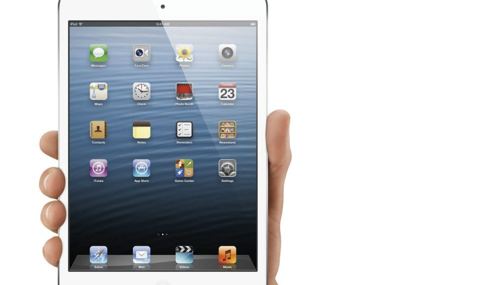 iPad mini con una pantalla táctil de 7,9 pulgadas