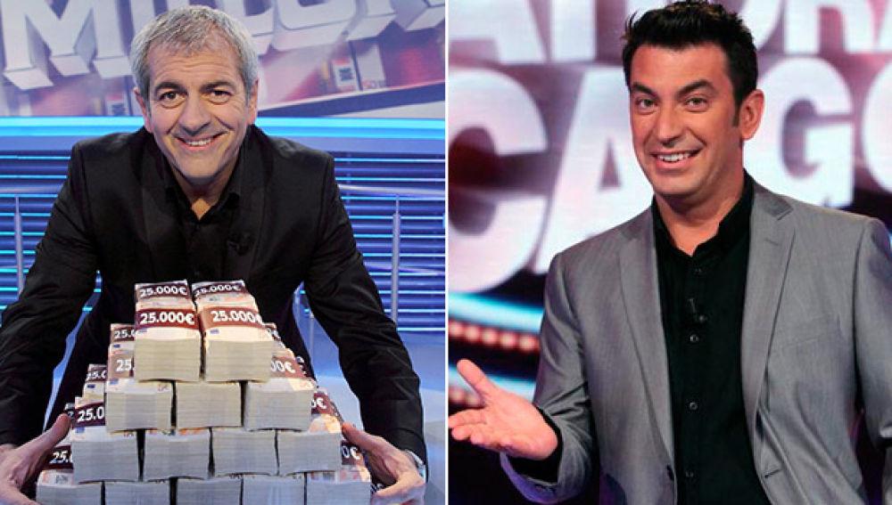 Carlos Sobera y Arturo Valls