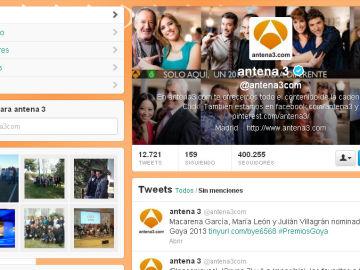 Twitter Antena 3