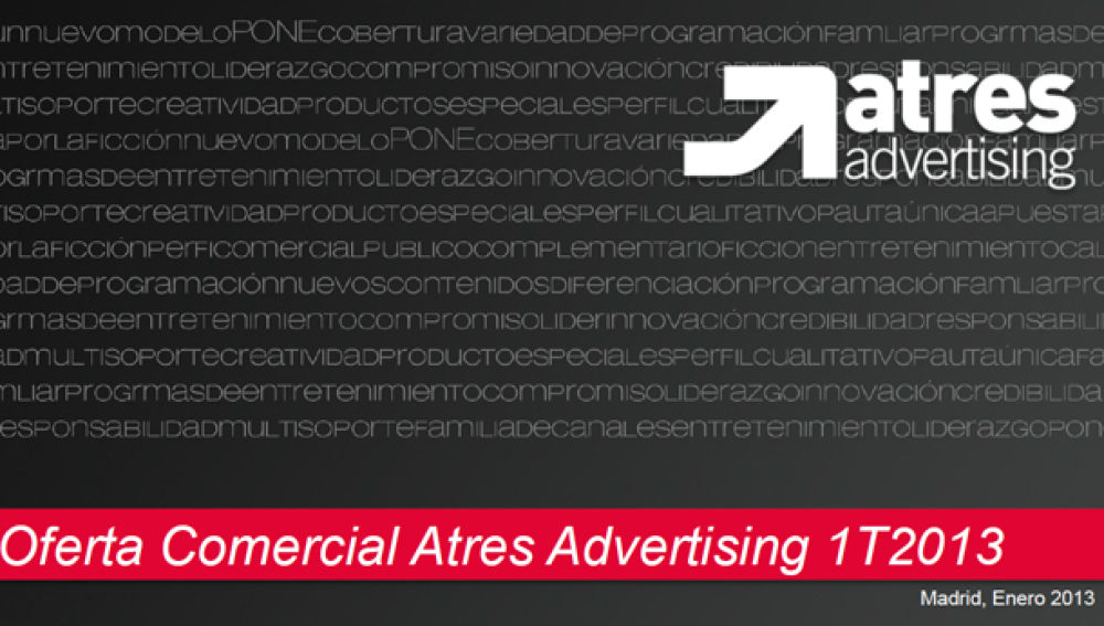 Argumentario Grupo Antena 3 1ºTrimestre ene