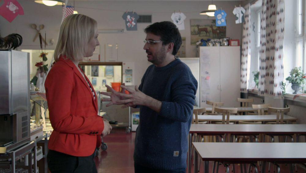 Mari Peteri explica cómo funciona la Escuela Pública en Finlandia