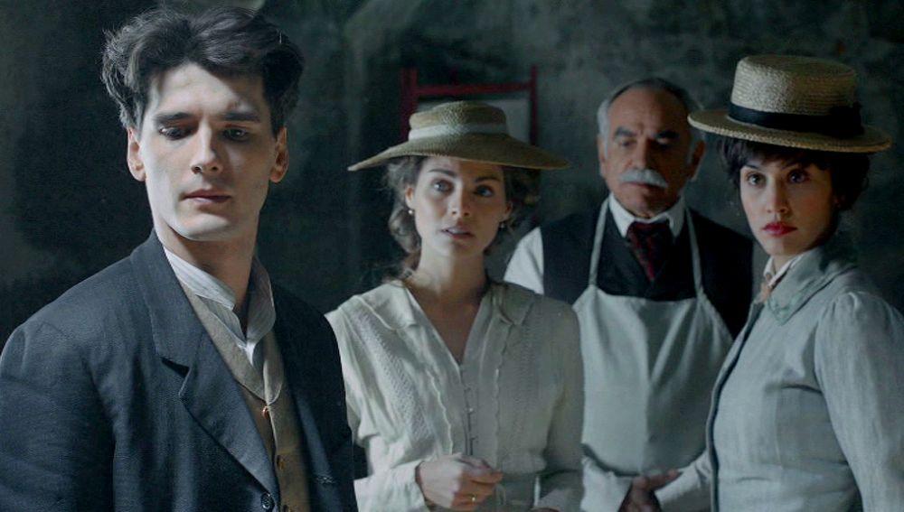 Julio, Alicia, Ayala y Maite