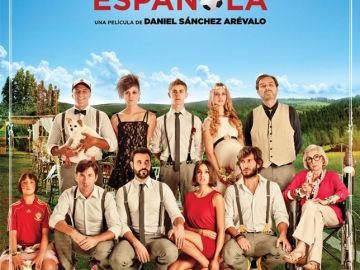 Cartel oficial de La Gran Familia Española