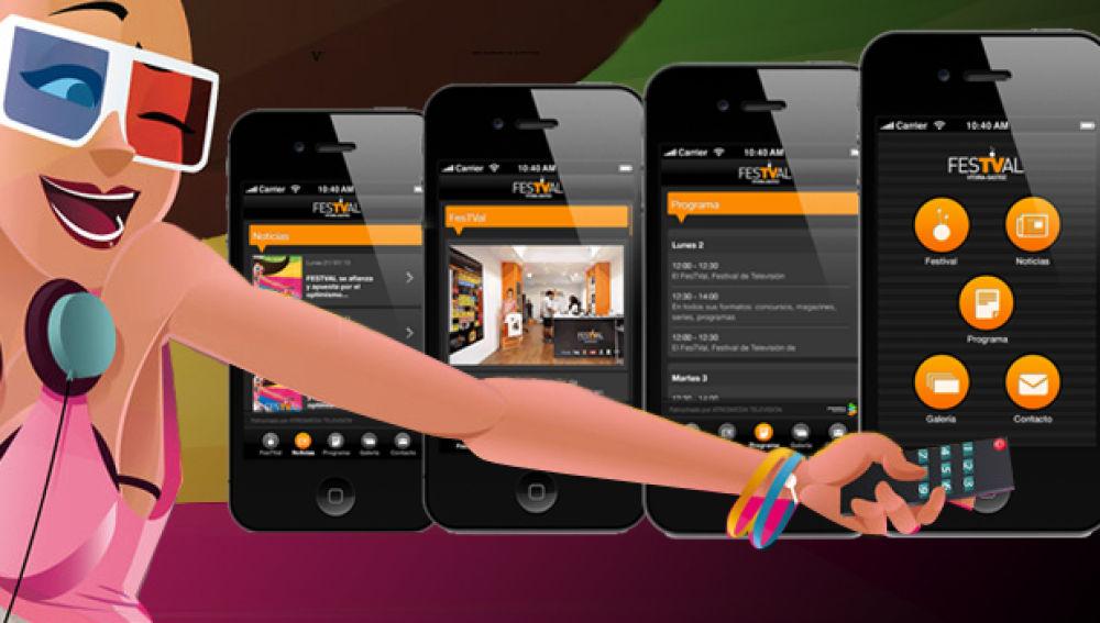 App del FesTVal de Vitoria.