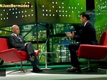 Gómez Bermúdez con Iñaki López