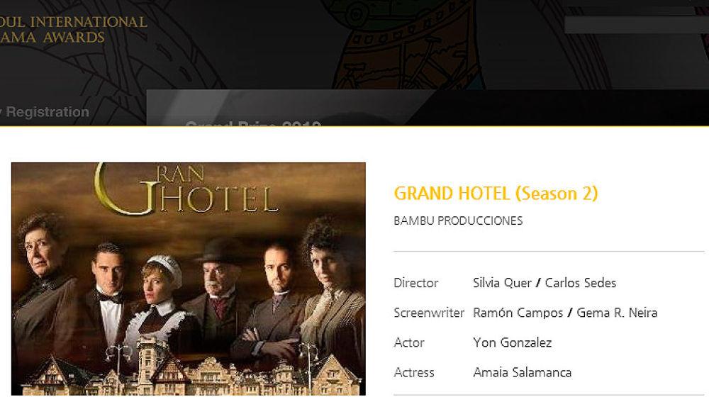Gran Hotel en los SDA
