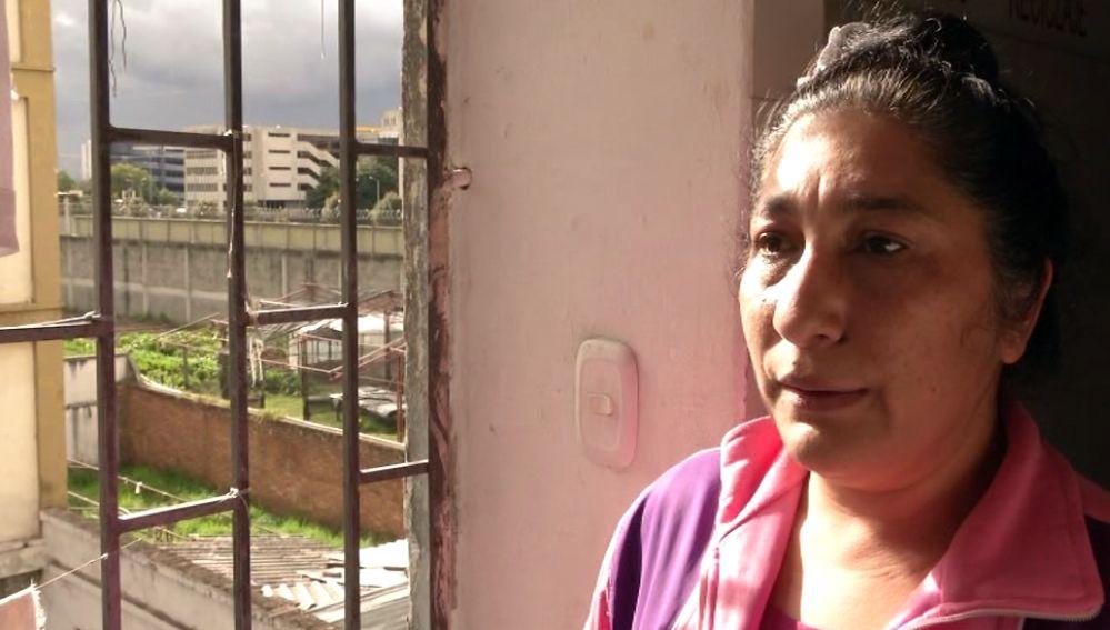 Española presa en Colombia