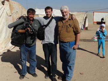 Evaristo Canete, Miguel Romero y Vicente Romero