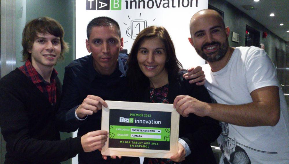 La aplicación 'ATRESMEDIA Conecta' gana el premio TAB Innovation