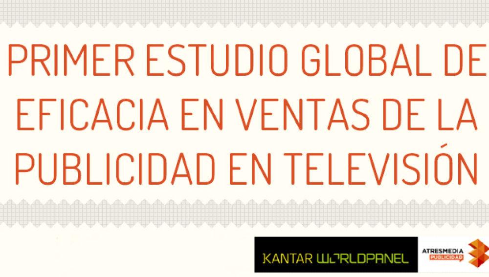 1er estudio global de eficacia en ventas de la publicidad en televisión