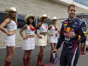 Vettel, en buena compañía