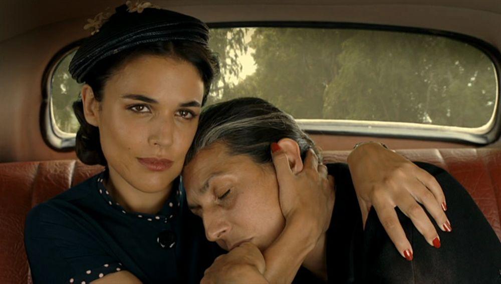 El emotivo reencuentro entre Sira y su madre