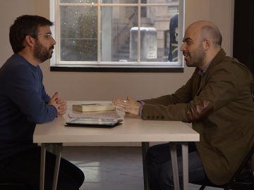 Évole conversa con Roberto Saviano