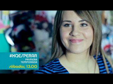 XQ Esperar, este sábado con Lucía Gil