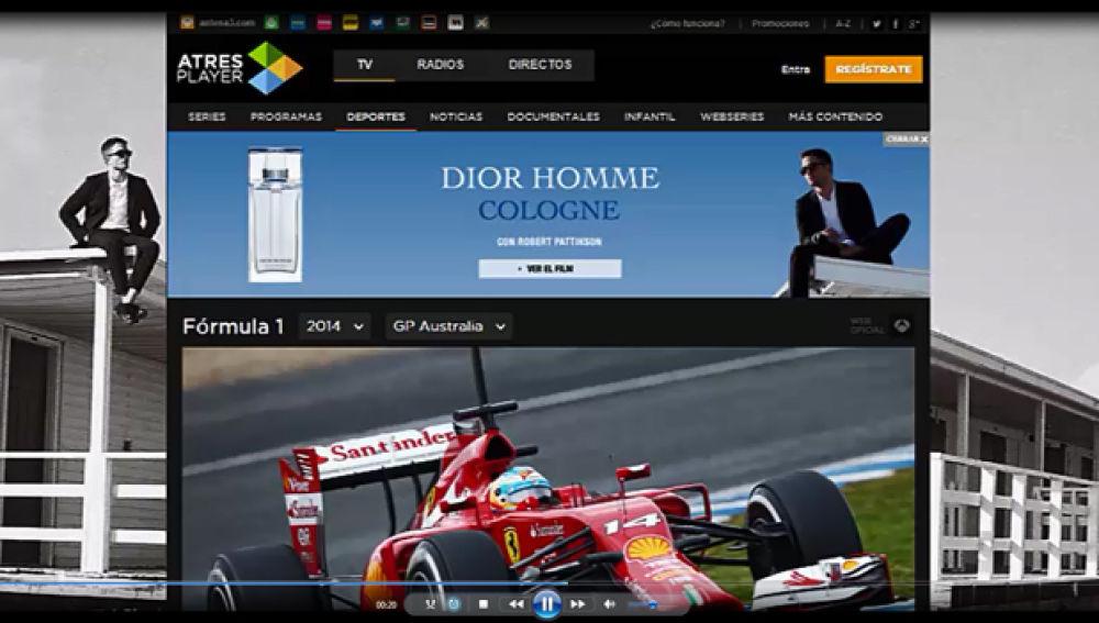 DIOR HOMME y F1