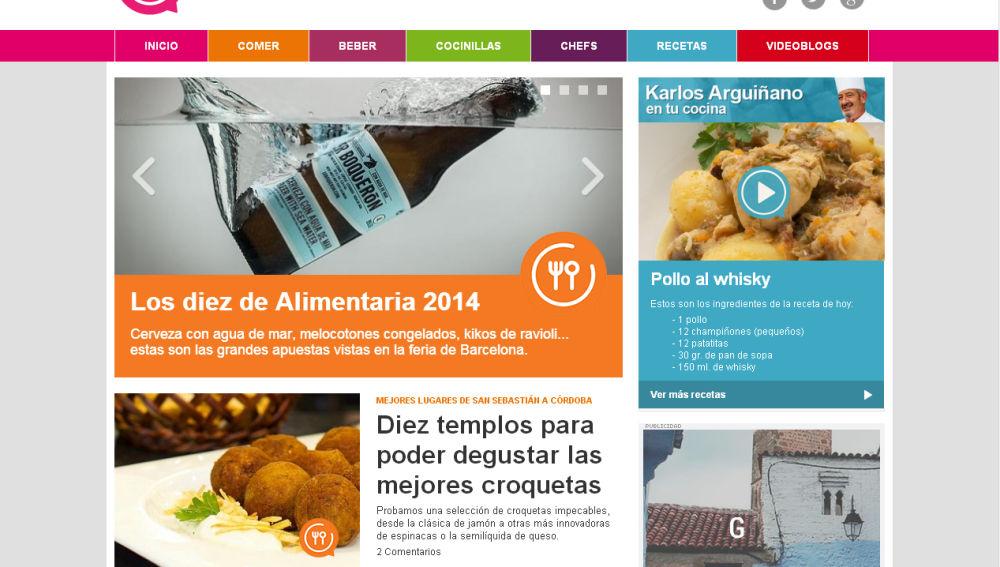 Web de Cocinatis.com