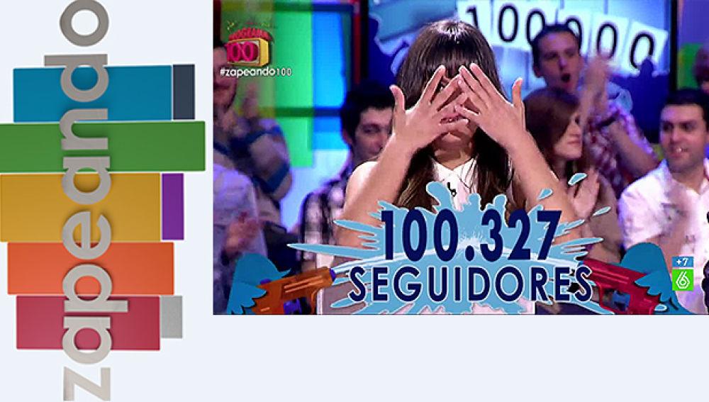 Zapeando llega a los 100.000 seguidores en Twitter - Superdestacado