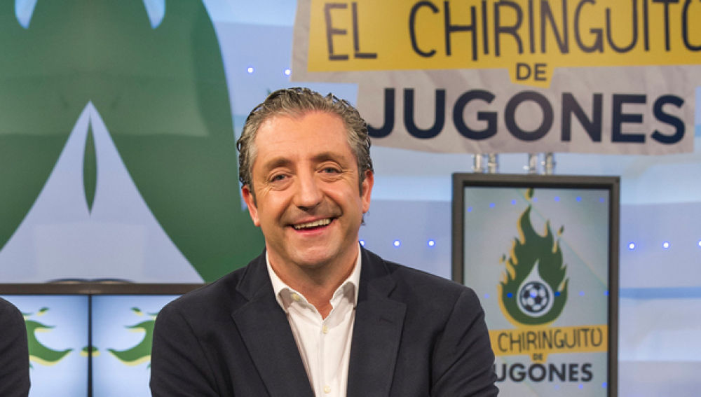 Superdestacado Josep Pedrerol en El Chiringuito