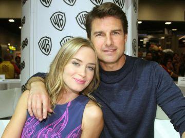Tom Cruise y Emily Blunt en El Hormiguero 3.0