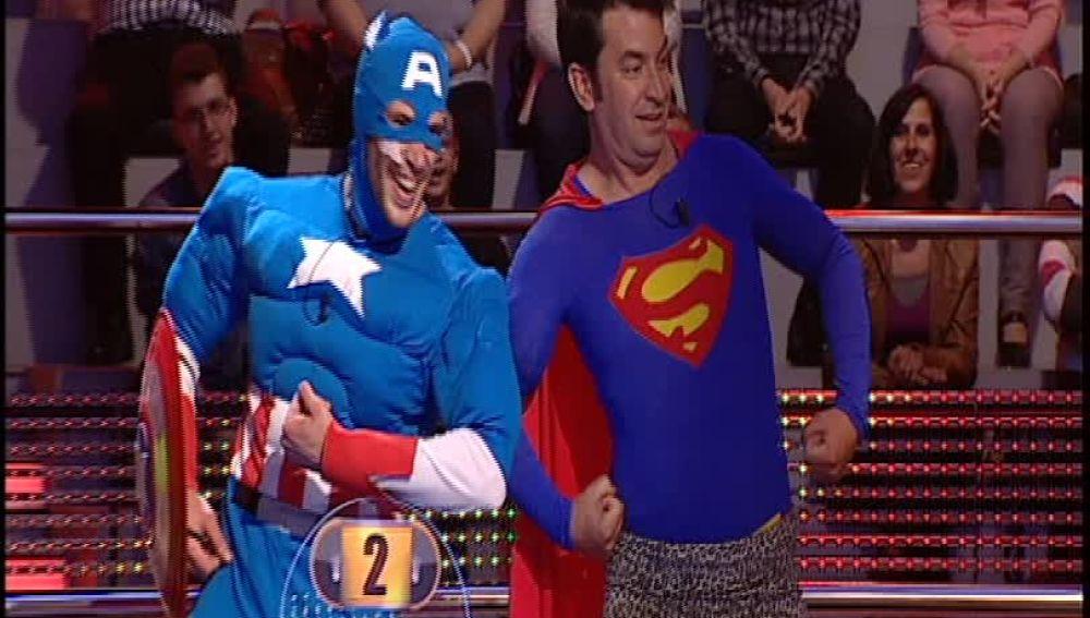 Especial superhéroes en Ahora Caigo