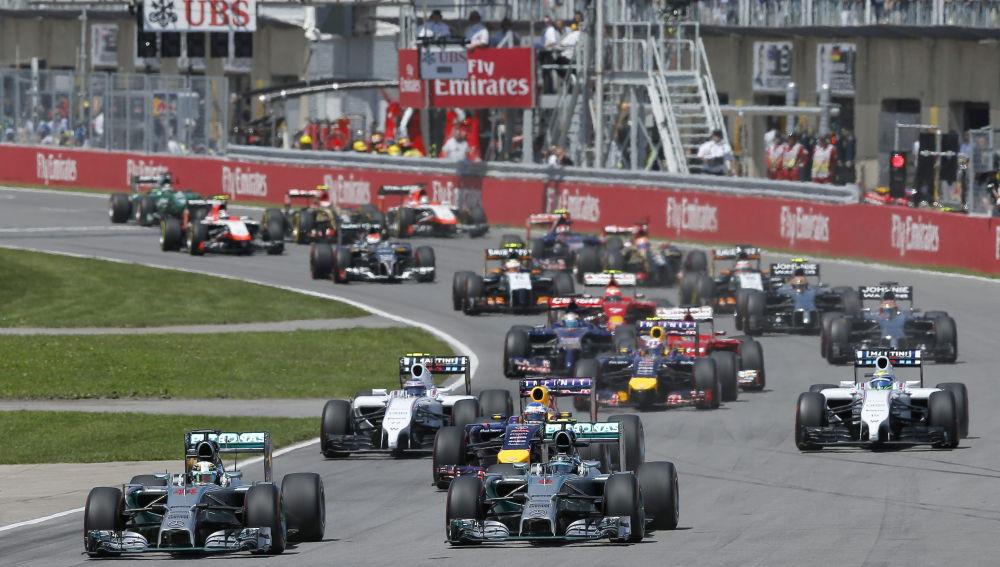 La salida del GP de Canadá