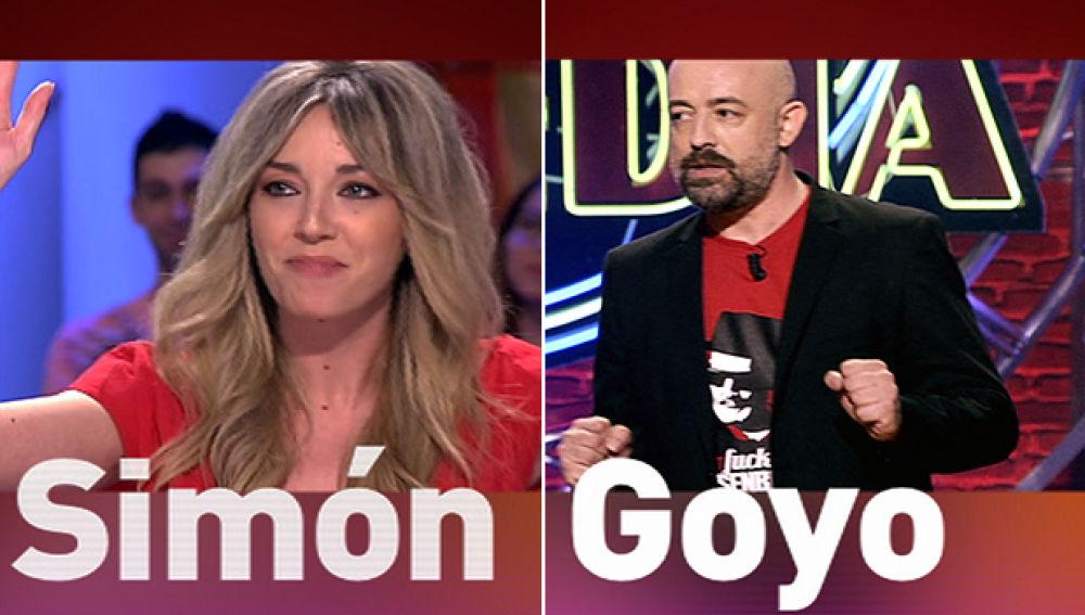 Anna Simón y Goyo Jiménez te harán reír en Zapeando