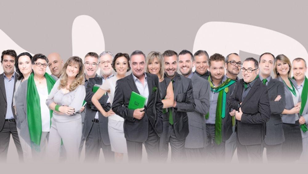 Los presentadores de Onda Cero