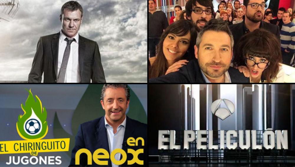 Antena 3, líder de agosto