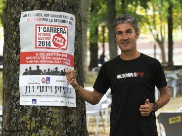 Entrena con Martín Fiz para la I carrera Ponle Freno en Vitoria