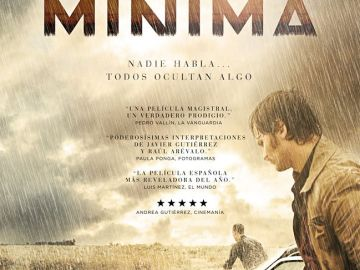Cartel de la crítica de 'La Isla Mínima'