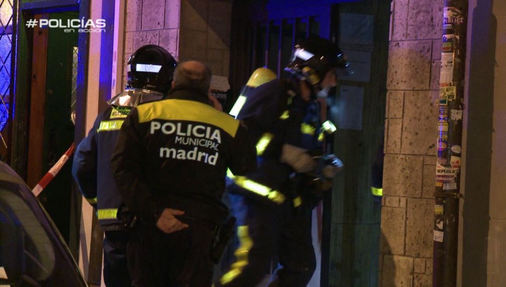 Incendio en 'Policías en acción'