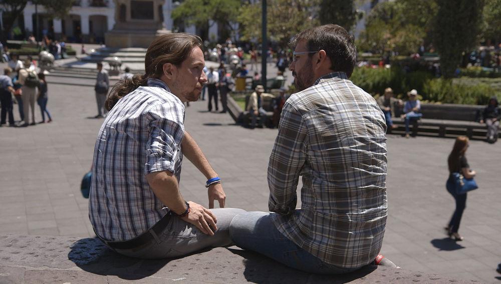 Jordi Évole entrevista a Pablo Iglesias