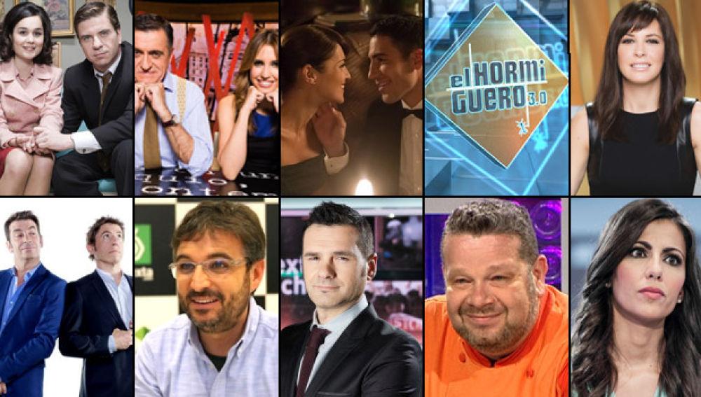 Audiencias Atresmedia TV