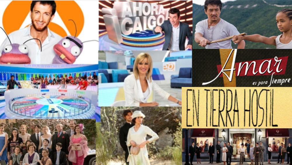 Audiencias Enero 2015 Antena 3