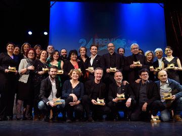 Foto de Familia de todos los premiados